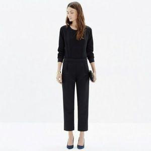 Madewell Ellison jumpsuit black size small